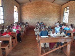 Elementary Classroom in Burundi