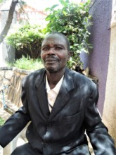 Mohammed, a AMS client who used to be malnourished