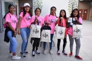 4GIRLS Orange County Workshop Attendees