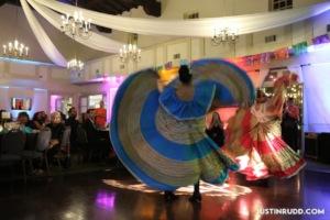 4GIRLS Gala - Folklorico dancers
