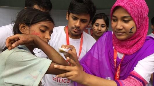 Get emergency help to injury victims in Bangladesh