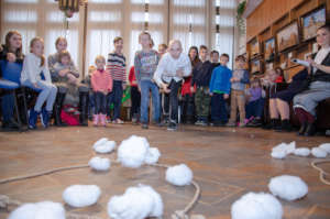 Exciting snowflakes competition