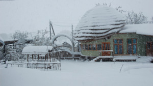 Heavy snow on April 20th