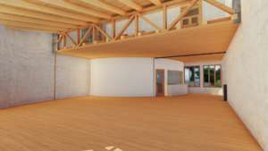 Training room that will fit up to 50 people