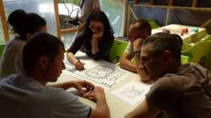 Applying permaculture principles in garden design