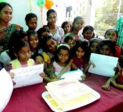 International day of girl child at the Junction