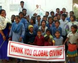 Thank you Global Giving