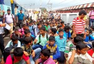 Rescued Children from Jaipur