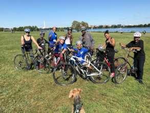 Some OCU Peace Ride Participants