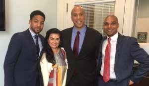 OCU Board Members meet with Senator Cory Booker.