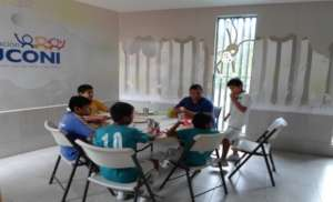 Youth House and JUCONI House gathering