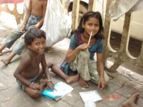 Working with homeless children