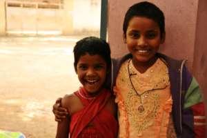 Girls in the Musheerabad Rainbow Home