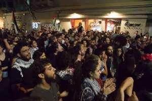 Protest in Haifa (Photo by Nadine Nashef)