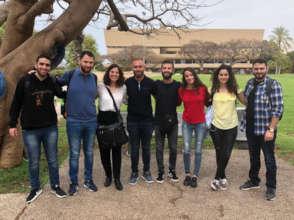 Adalah Attorney Soheir Asaad with the TAU students
