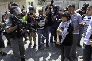 Protest in Ramallah