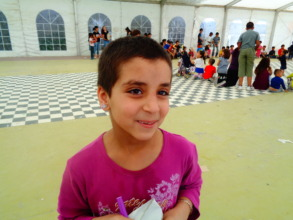 EIGHT YEARS OLD STUDENT FROM SYRIA IN OUR SCHOOL!