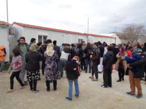 REFUGEE CAMP DISTRIBUTIONS TO SYRIAN FAMILIES