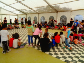 KIDS FROM SYRIA - AMAZING WORKSHOP in English!!!