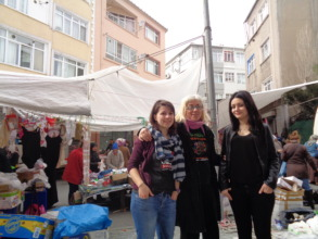 IN ISTANBUL helping SYRIANS TO COME SAFE IN GREECE