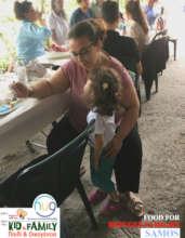 FOOD FOR REFUGEE FAMILIES 2 SAMOS