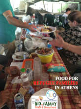FEEDING REFUGEE FAMILIES IN ATHENS SQUATS