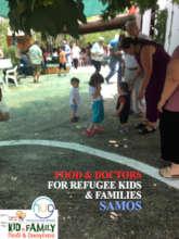 FOOD & DOCTORS FOR REFUGEE KIDS & FAMILIES_SAMOS