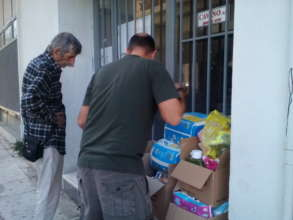 Our relief packages travel all over Greece