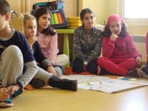 H.U.G workshops for Sharing Caring & Integrating