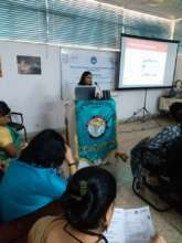 Nupur Bidla during the presentation at TNAI