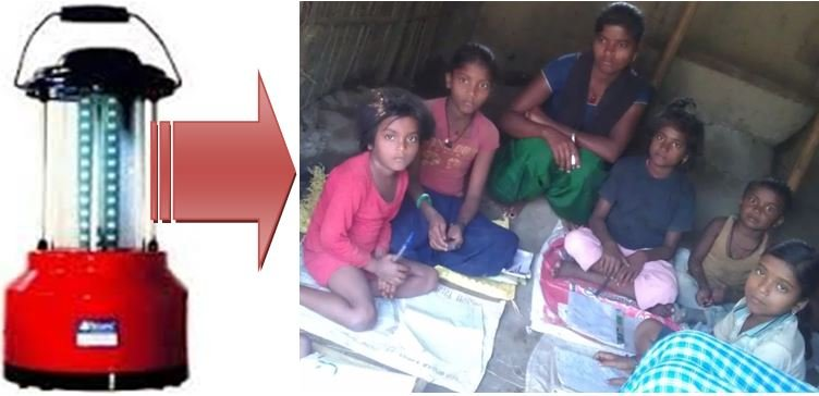 Buy a solar lantern for girls in Nepal to study