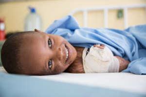 Children are often the victims of burn trauma