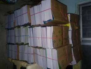 Note books to be given for school Children