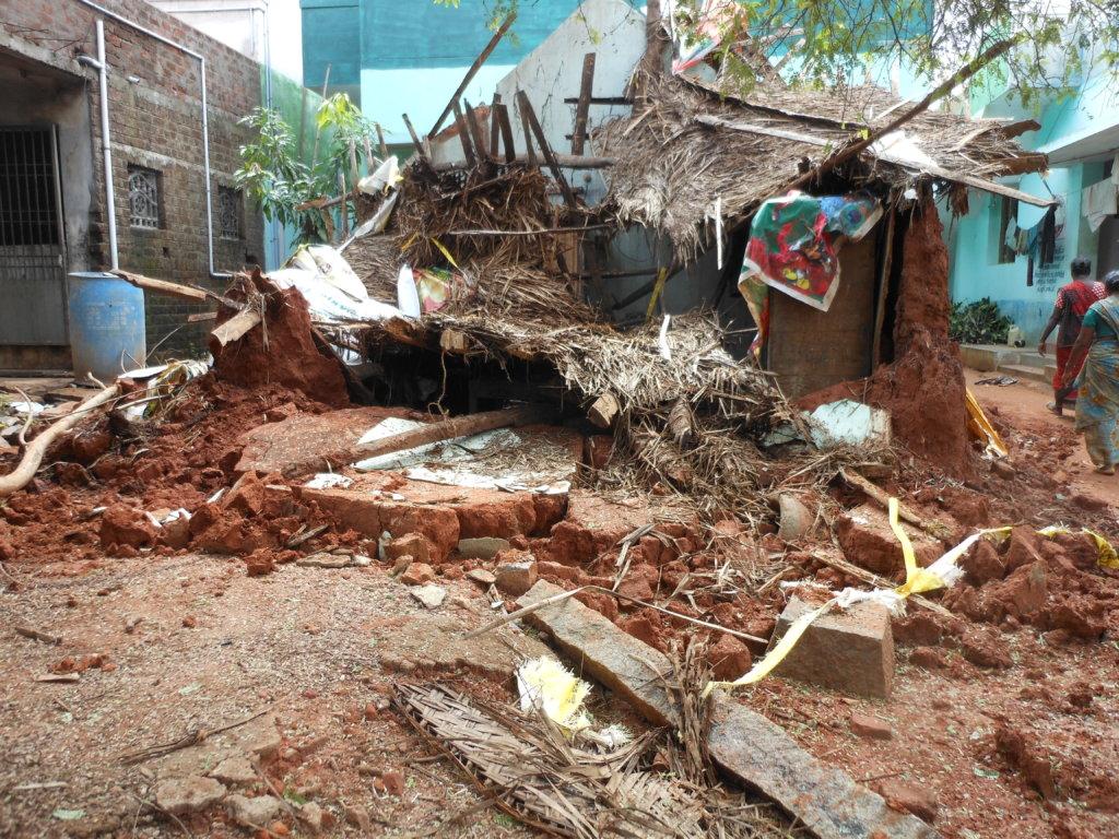 Flood Relief: Rebuild homes-Cuddalore-Vilupuram