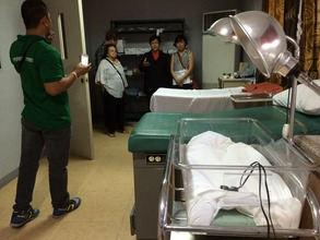 DONATED EQUIPMENT TO MATERNITY CLINIC