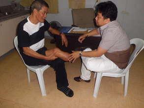 prosthetics screening