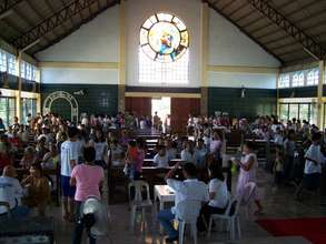 Medical Mission,San Vicente Church, Bacolor