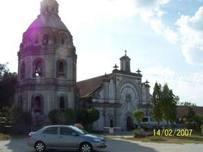 San Guillermo Church, Bacolor