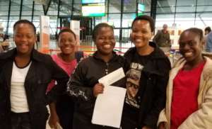 Our ISF Scientists at King Shaka Airport, Durban