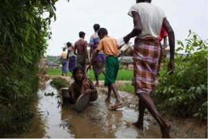 Rohingya Refugee Crisis  UNICEF/UN0126241/Brown