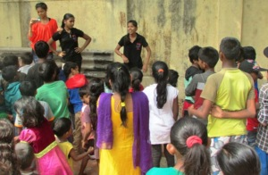 Poonam Conducting A Workshop