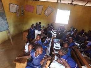 Current classroom in Kamawornie