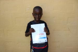 Emmanuel is ready for school