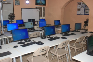New Computers in the Computer Lab