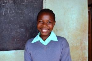 Cecilia, Student President, Kiteghe Primary