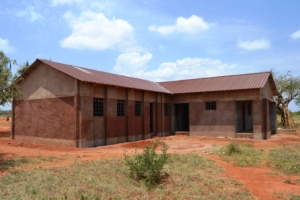 Classrooms under construction at Ngambenyi