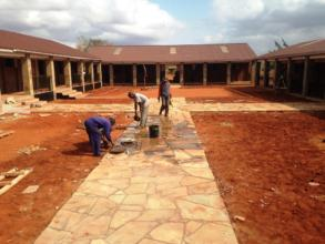 Work nears completion at Ngambenyi Primary