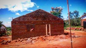 Kitchen under construction at Makwasinyi