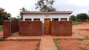 New toilets for Kiteghe nursery pupils