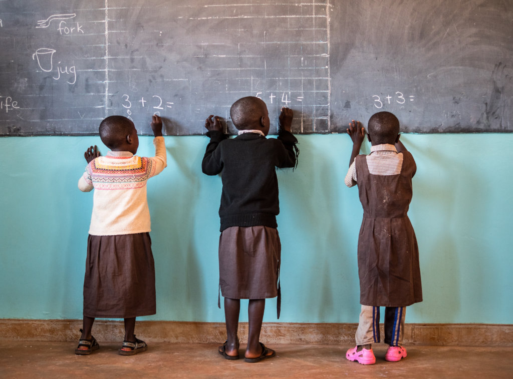Improve education for 2,500 children in Kenya